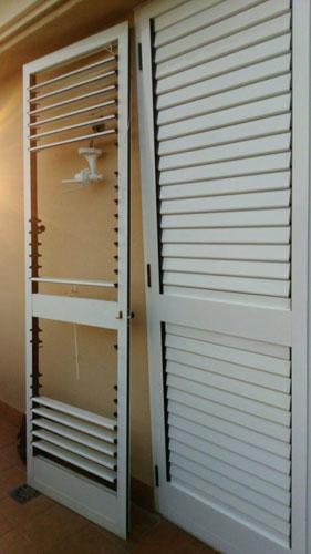 Puertas aluminio terrazas